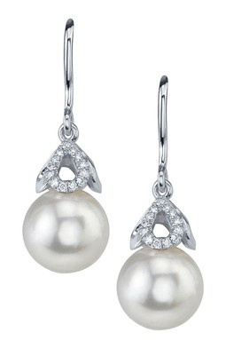 Freshwater-pearl-drop-earrings