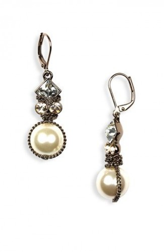 Glass-pearl-drop-earrings