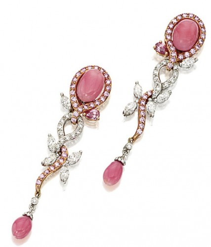 Pink-pearl-drop-earrings (2)