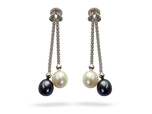 black-and-white-pearl-drop-earrings