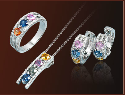 bridesmaid-jewelry-sets-colorful