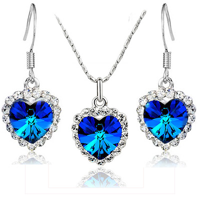 bridesmaid-jewelry-sets-dark-blue