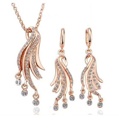 bridesmaid-jewelry-sets-gold
