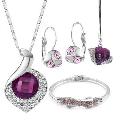 bridesmaid-jewelry-sets-purple
