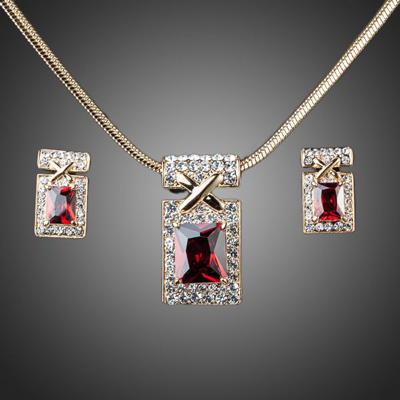 bridesmaid-jewelry-sets-red