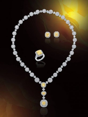 bridesmaid-jewelry-sets-yellow