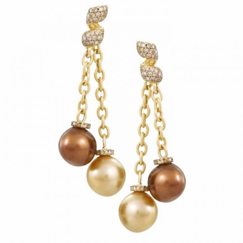 chocolate-pearl-drop-earringsl