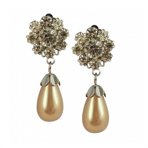 crystal-flower-pearl-drop-earrings