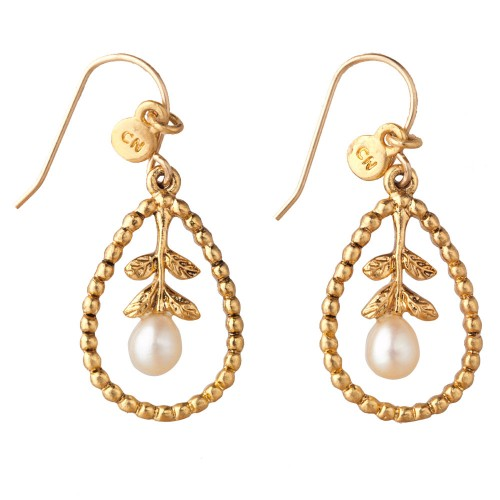 gold-pearl-drop-earrings