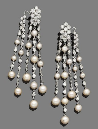 multi-strand-pearl-drop-earrings