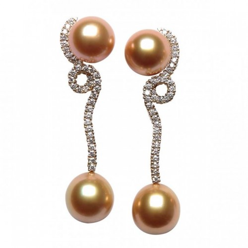 natural-golden-South-Sea-pearl-drop-earrings