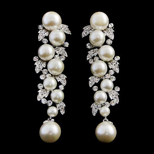 pearl-drop-earrings-Vintage