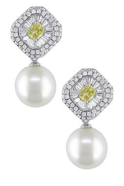 pearl-drop-earrings-yellow-white
