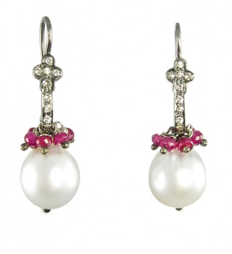 rubies-pearl-drop-earrings