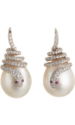 snake-pearl-drop-earrings