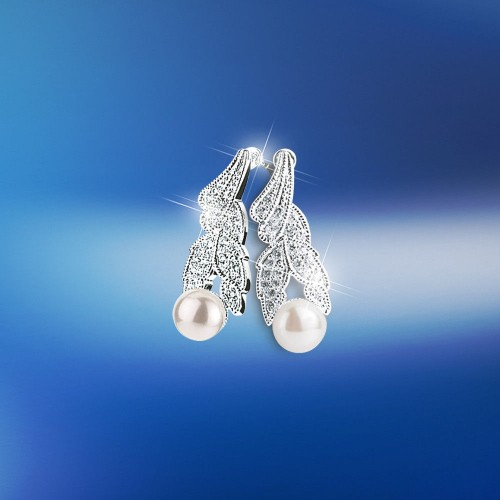 sparkling-pearl-drop-earrings