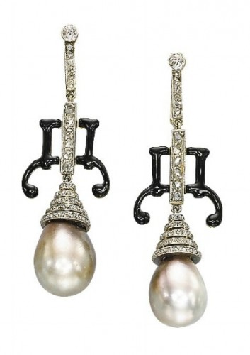 tiered-pearl-drop-earrings