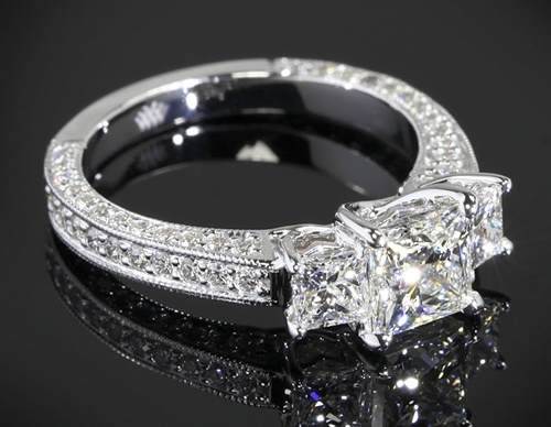 best-princess-Cut-diamond-rings