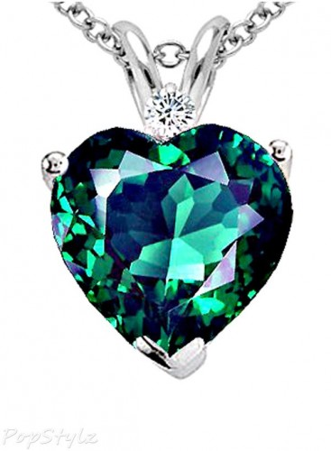 Emerald- diamond-heart-necklace-for-women