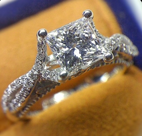 Venetian-princess-Cut-diamond-rings