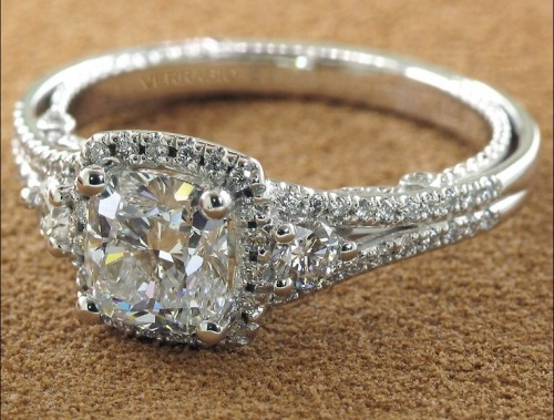 Vintage-princess-Cut-diamond-rings