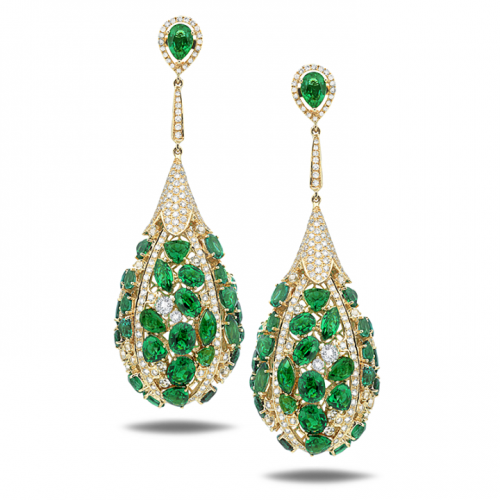 beautiful-emerald-earrings