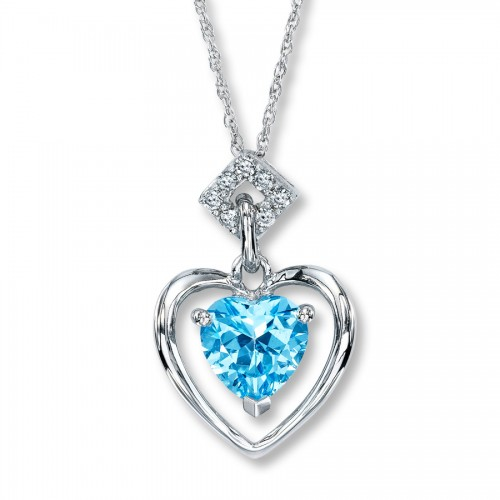 blue-diamond-heart-necklace-for-women