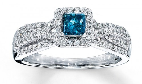 blue-diamond-princess-Cut-diamond-rings-