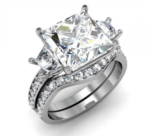 designer-princess-Cut-diamond-rings