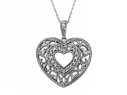 diamond-heart-necklace-for-women-antique