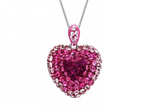 diamond-heart-necklace-for-women-pink