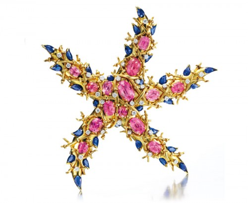 diamond-starfish brooches-and-dress-clips