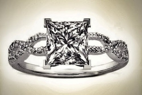 infinity-princess-Cut-diamond-rings