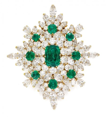 magnificent-emerald-and-diamond-brooch