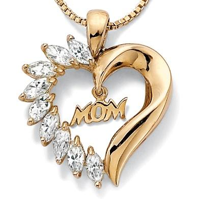 mom-diamond-heart-necklace