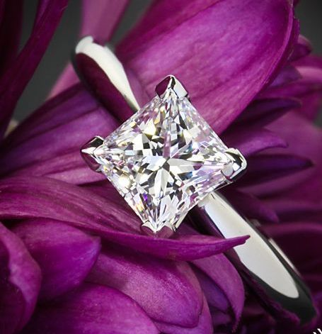 princess-Cut-diamond-rings-Engagement-Ring (2)