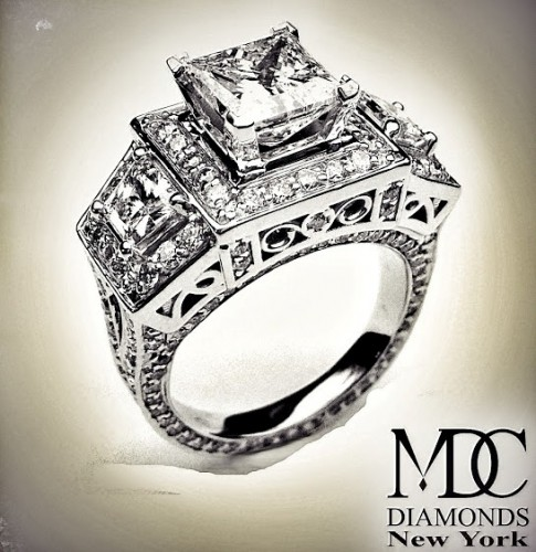 princess-Cut-diamond-rings-newyork