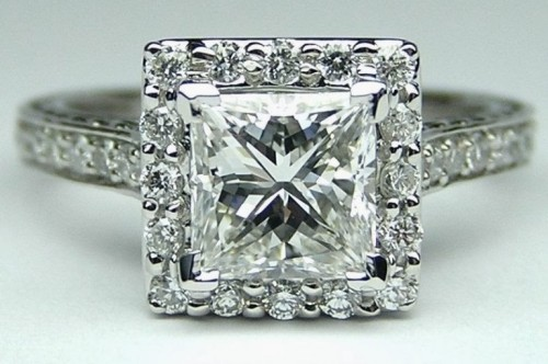simple-princess-Cut-diamond-rings