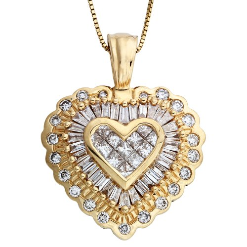 vintage-diamond-heart-necklace
