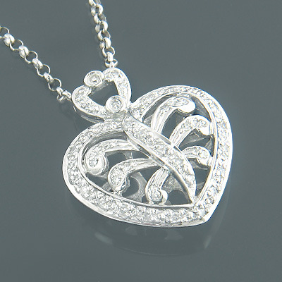 white-gold-diamond-heart-necklace-for-women