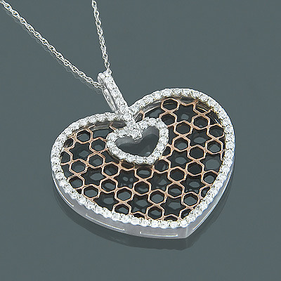 white-rose-gold-diamond-heart-necklace-for-women